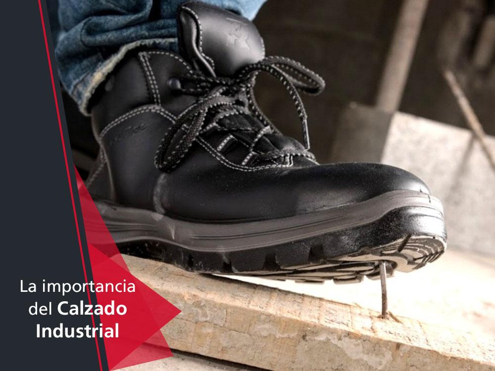 El calzado industrial en el trabajo